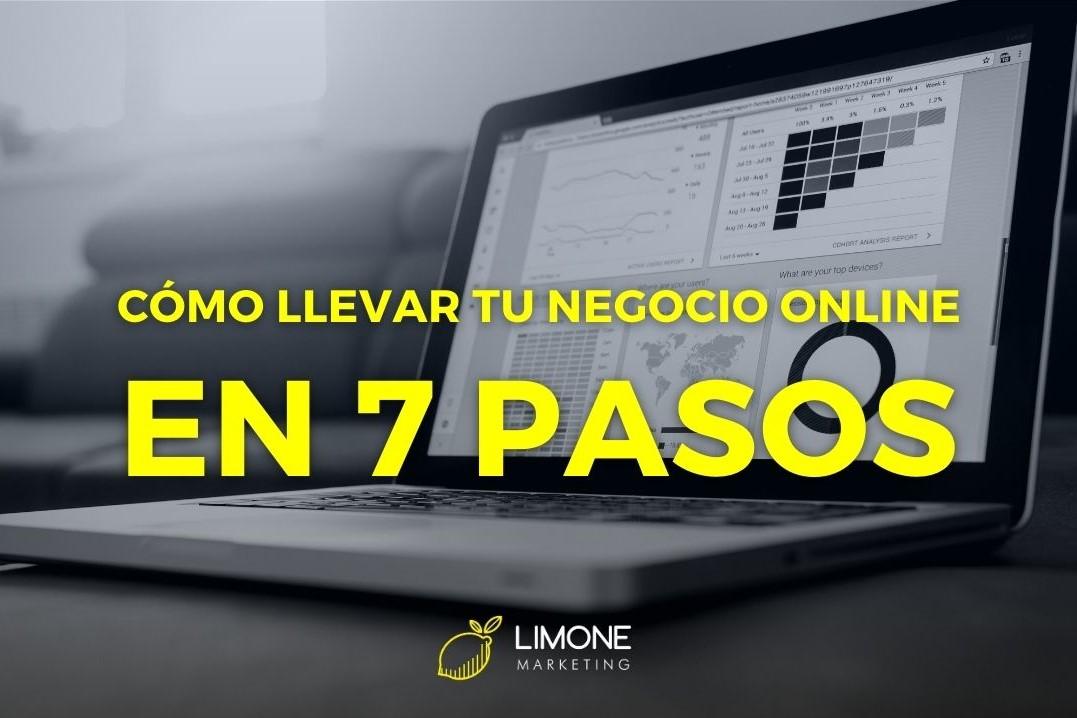 Cómo llevar un negocio online en 7 pasos - Limone Marketing