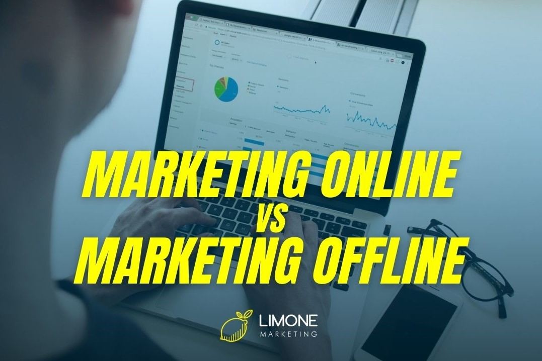 Marketing online vs Marketing offline