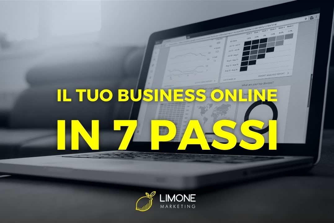 7 passi per portare un business online - Limone Marketing